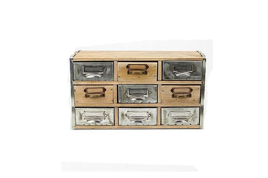 Urban Outfitters Reclaimed Wood Card Catalogue