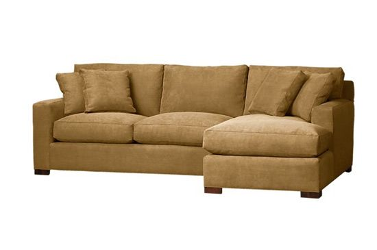 Crate & Barrel Axis 2-Piece Left Arm Chaise Sectional