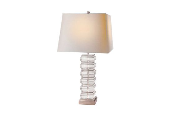 Circa Square Stacked Lamp