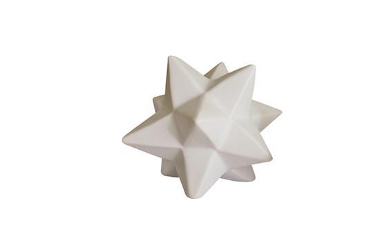 High Street Market White Porcelain Origami Stars