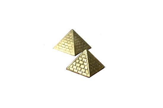Lawson-Fenning Brass Pyramids