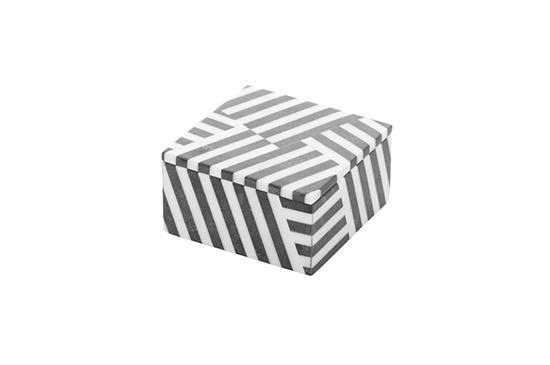 Kelly Wearstler Fractured Marble Box