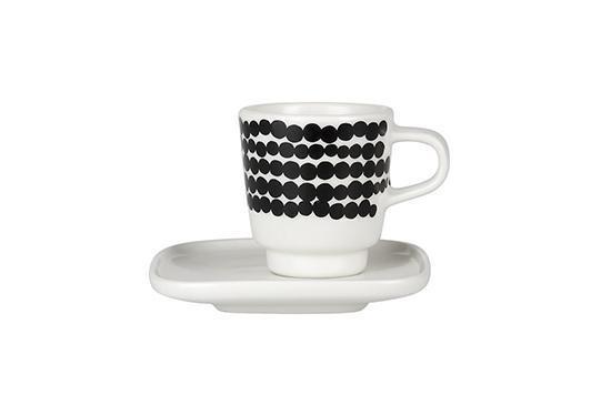 Crate & Barrel Marimekko Cup and Plate Set