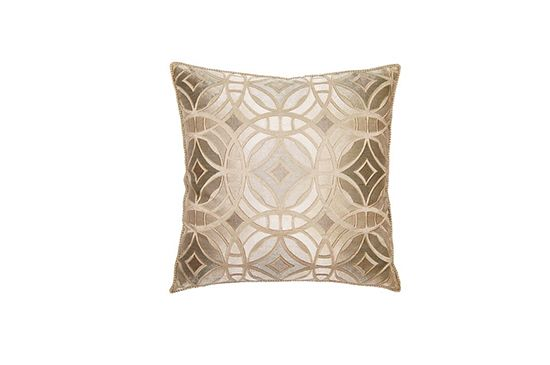 Square Feathers  Royal Rings Pillow