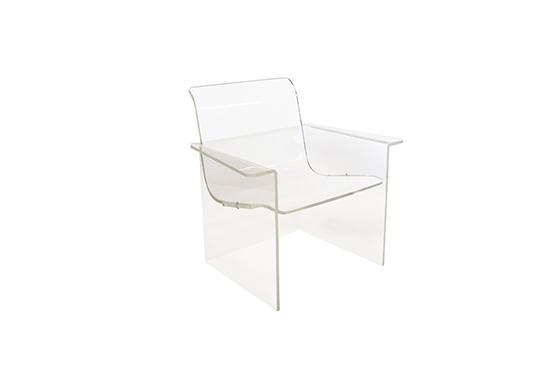 1st Dibs  Lucite Chairs, Yasha Heifetz