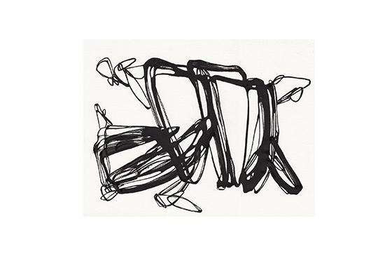 Etsy  Black Ink Series Untitled IV