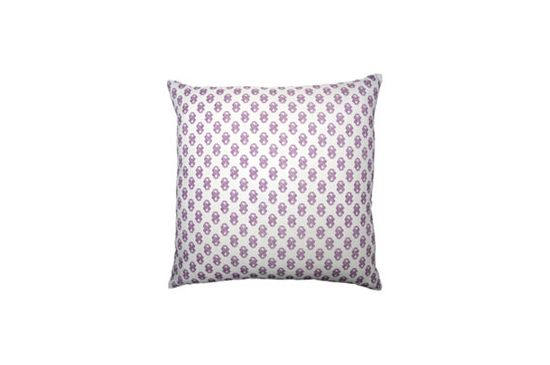 Stone Textile Signature Print Pillow