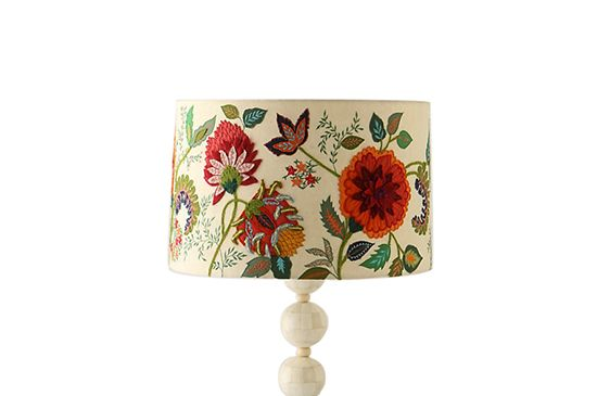 Anthropologie Needlework Garden Shade