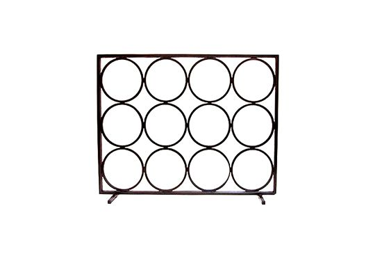 Commune Design Circle Fireplace Screen