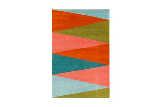 The Rug Company Harlequin Multi Rug by Jonathan Adler