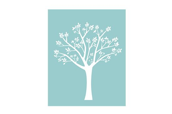 Modern Wall Graphics Neu Leafy Tree Wall Decal
