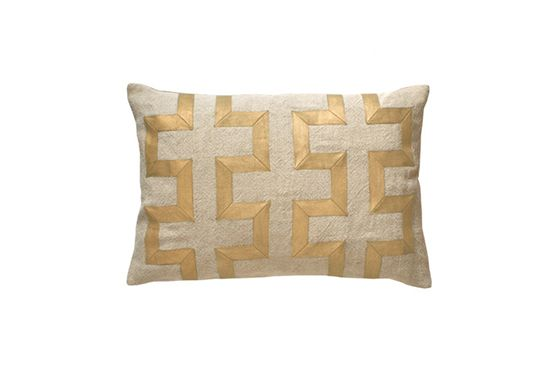 Hazelnut New Orleans Vertical Key Pillow