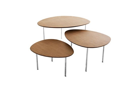 DWR Eclipse Nesting Table, From $449
