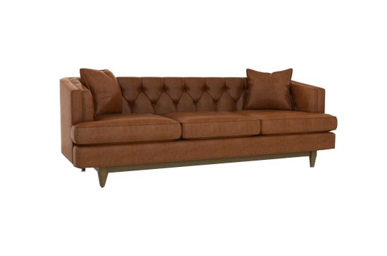 Dwell Studio Chester Leather Sofa