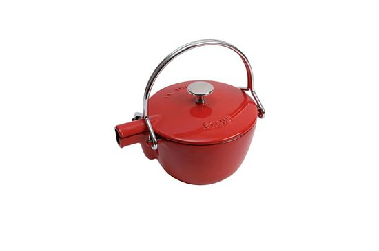 Sur La Table Staub Cherry Round Teapot