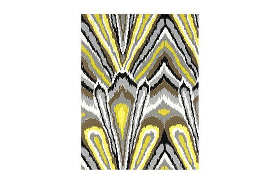 Decorators Best  Peacock Print Fabric, Schumacher