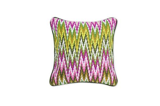 Jonathan Adler  Bargello Sandpiper Drive Pillow
