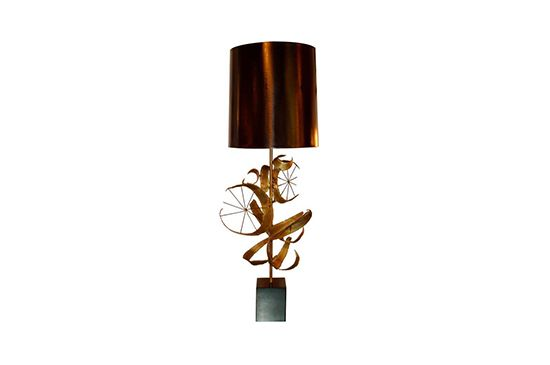 1st Dibs Brutalist Lamp by Laural