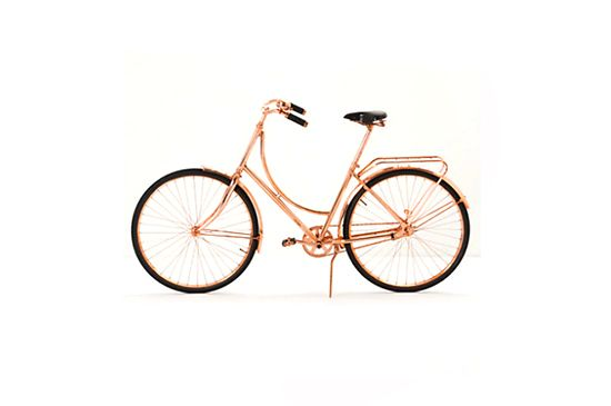 Anthropologie Van Heesch Copper Bicycle