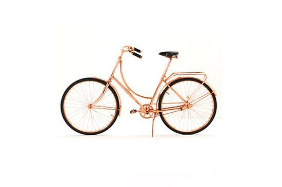 Anthropologie Van Heesch Copper Bicycle