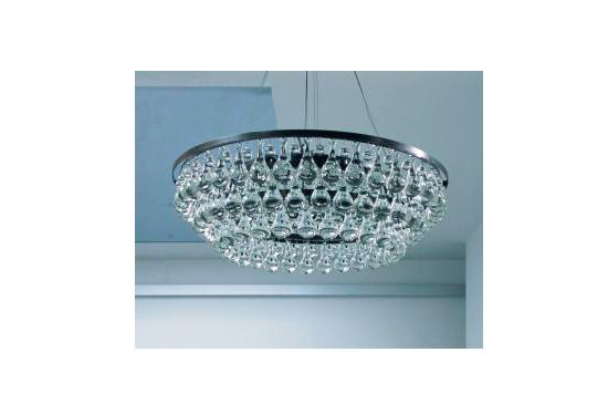 Ochre Crystal Chandelier, Price Upon Request