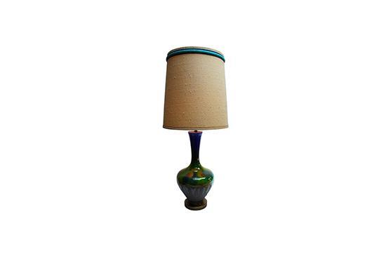 Rummage  Drip Glaze Lamp