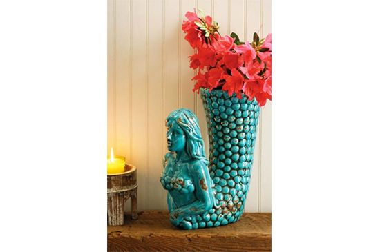 At West End Mermaid Vase