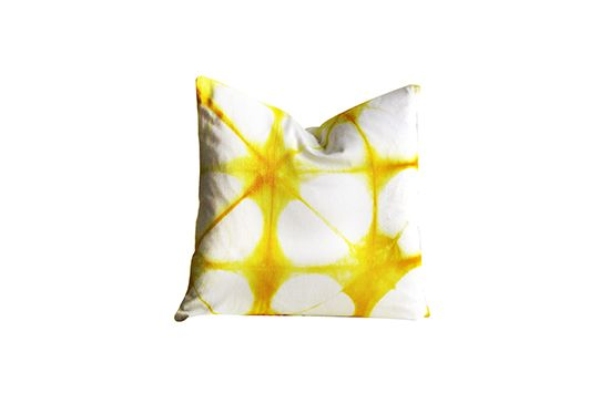 Etsy Shibori Pillow Cover