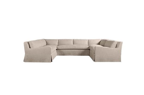 Restoration Hardware Belgian Slope Arm Sofa, From $8595