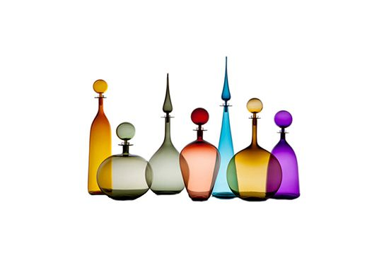 Joe Cariati  Petite Decanter Collection, From $575 each