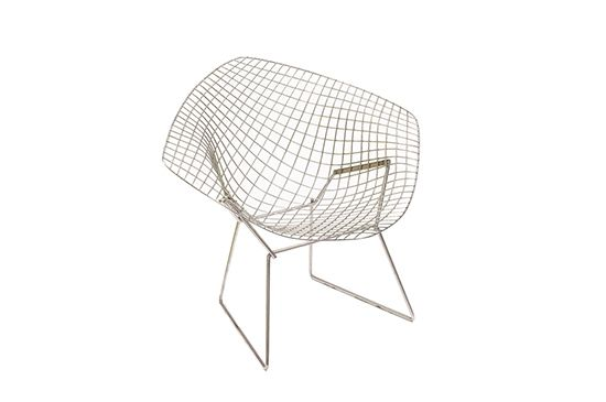 DWR Bertoia Diamond Lounge Chair
