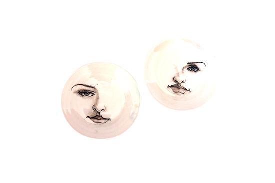 Etsy  Porcelain Face Plates