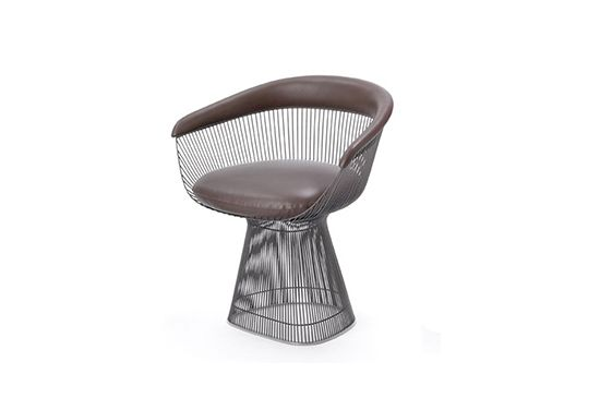 Y Living Platner Arm Chair