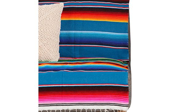 Urban Outfitters Serape Striped Blanket