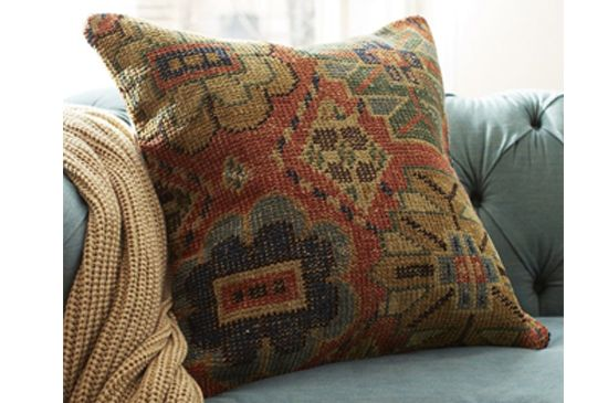 Pottery Barn Norton Hand-Knotted Pillow Cover