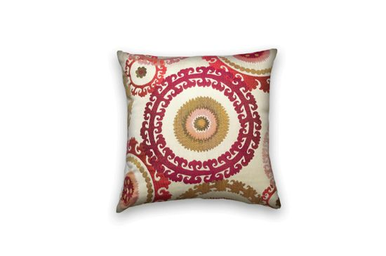 Etsy Suzani Decorative Pillow Cover