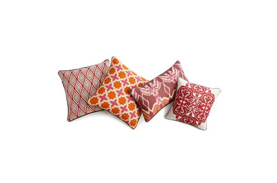 Horchow Multicolored Patterned Pillows, From $80