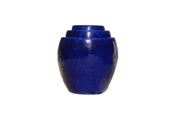 Asian Ceramics Blue Ceramic Planter, Price Available Upon Request