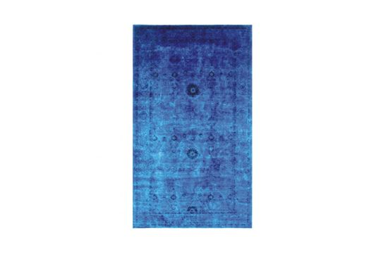 HD Buttercup  Blue/Red Overdyed Rug