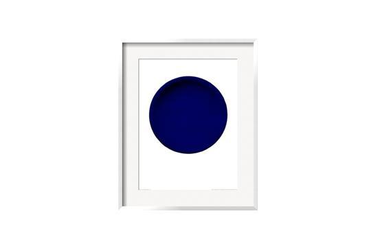 Art.com  Blue Disk Print