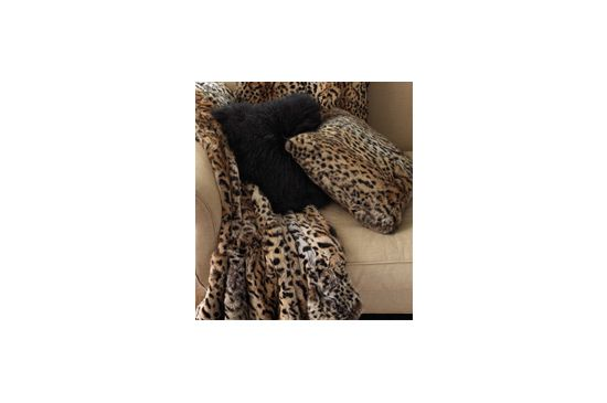 Neiman Marcus Adrienne Landau Rabbit Fur Throw