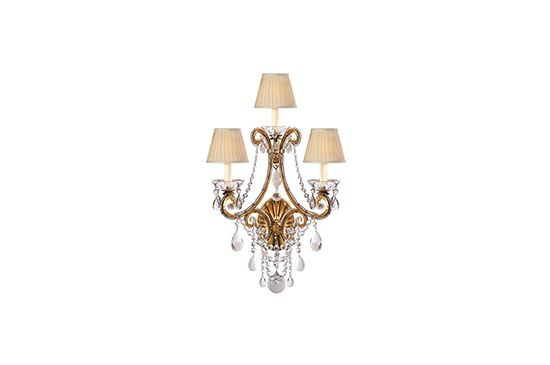 Circa Lighting Adrianna Triple Sconce