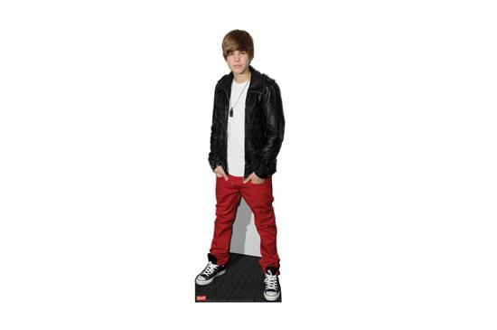 Ebay Justin Bieber Lifesize Standup Poster