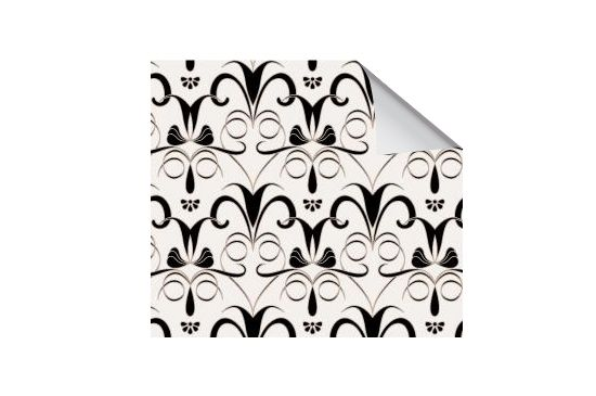 Wallpaper Collective Lilies-Black Wallpaper #006-00048-ROLL