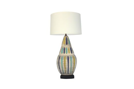 Downtown Large California Studio Pottery Lamp, price upon request