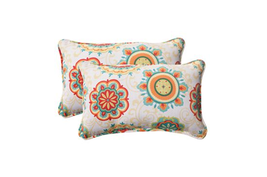 Overstock Rectangular Outdoor Throw Pillow