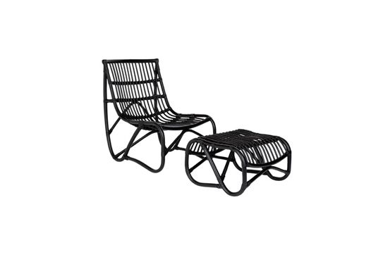 Bellacor  Safavieh Shenandoah Black Wicker Armchair