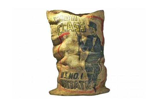 Second Shout Out Antique Potato Sack