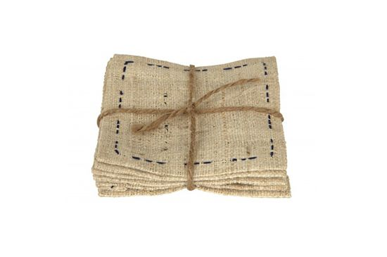 Jayson Home Linen Coaster Set