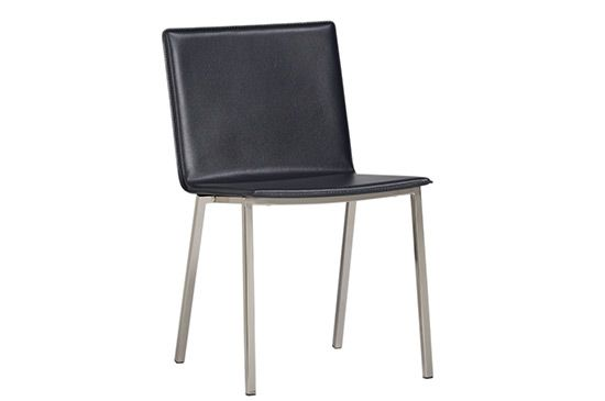 CB2 Phoenix Carbon Grey Chair